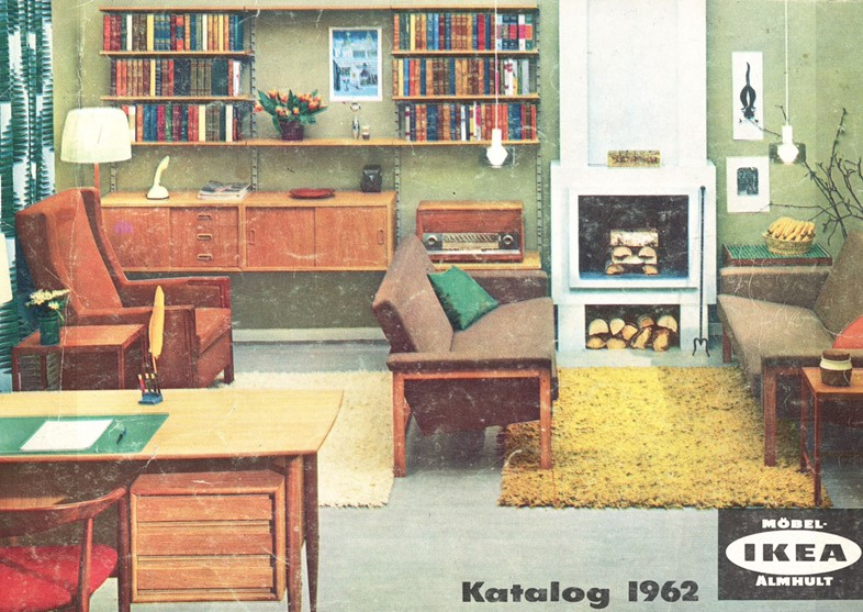 Interiors inspiration courtesy of vintage ikea catalogues for At home furniture catalogue