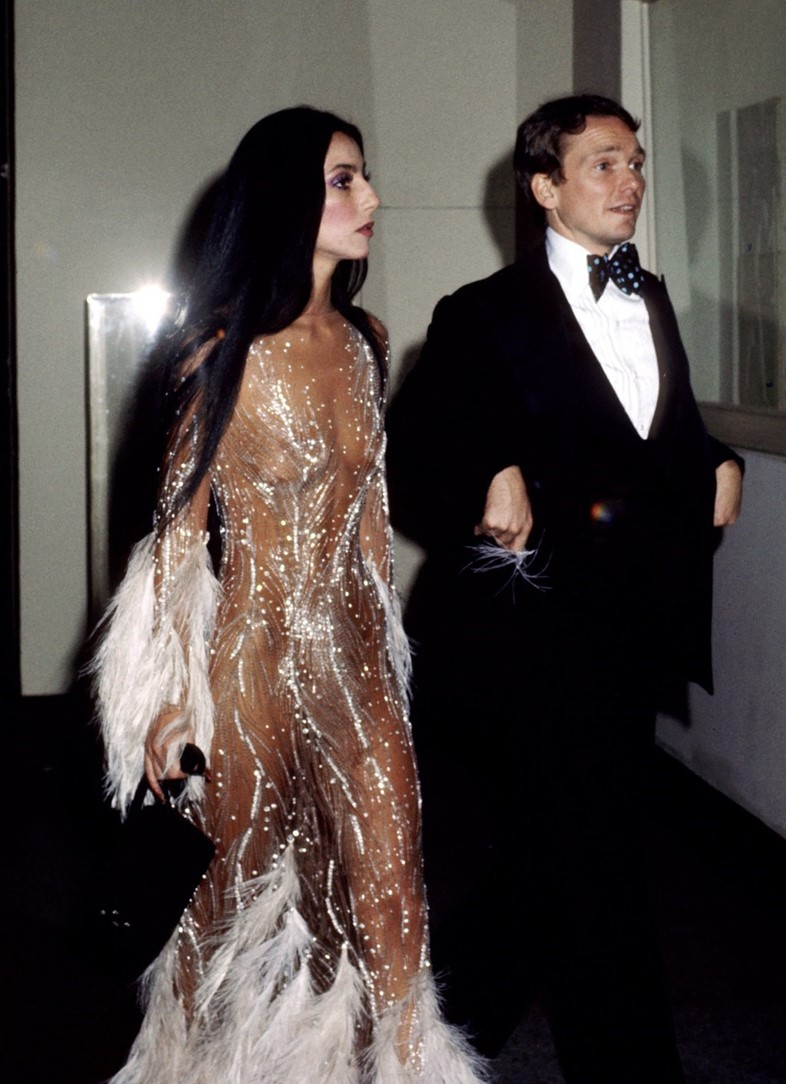 fashion-2014-06-cher-bob-mackie-sheer-feather-cost