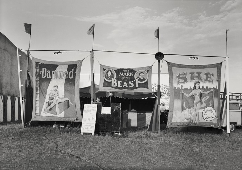 Mark of the beast, c. 1970's, vintage gelatin silv