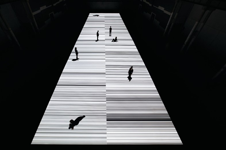 Ryoji Ikeda_ test pattern _N_5_ audiovisual instal