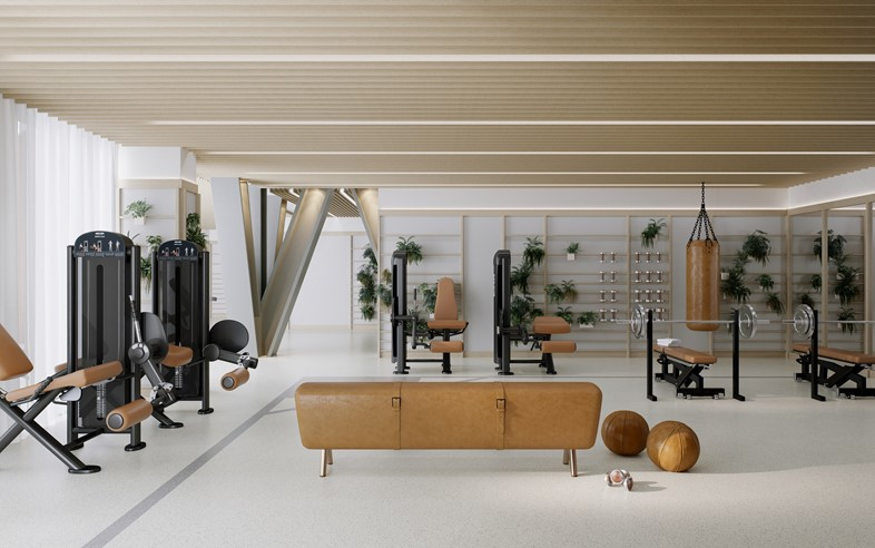 ONE CROWN PLACE GYM - STUDIO ASHBY