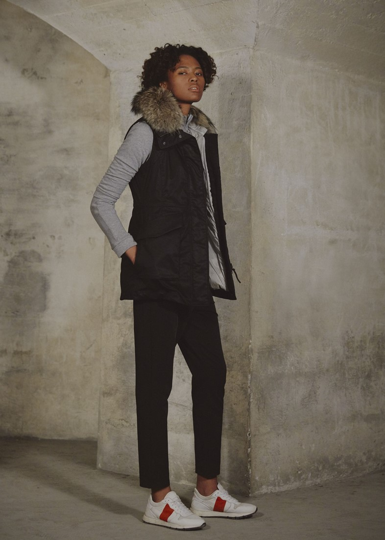Woolrich Military vest_black (1)