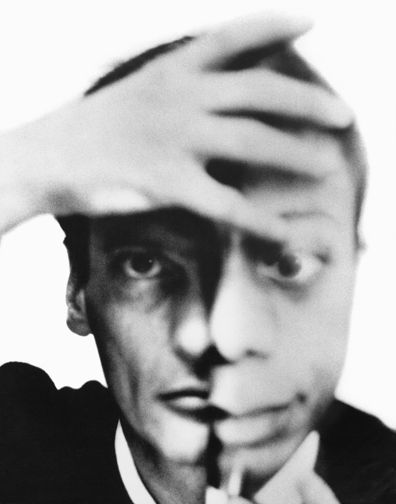 Self-portrait-with-James-Baldwin,-September-1964
