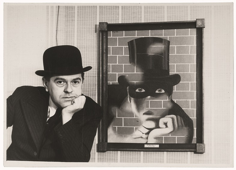 Rene Magritte and The Barbarian, London Gallery, London, 193