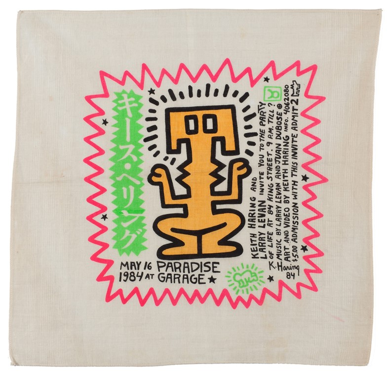 1984c-Keith-Haring-Party-of-Life-party,-Paradise-G