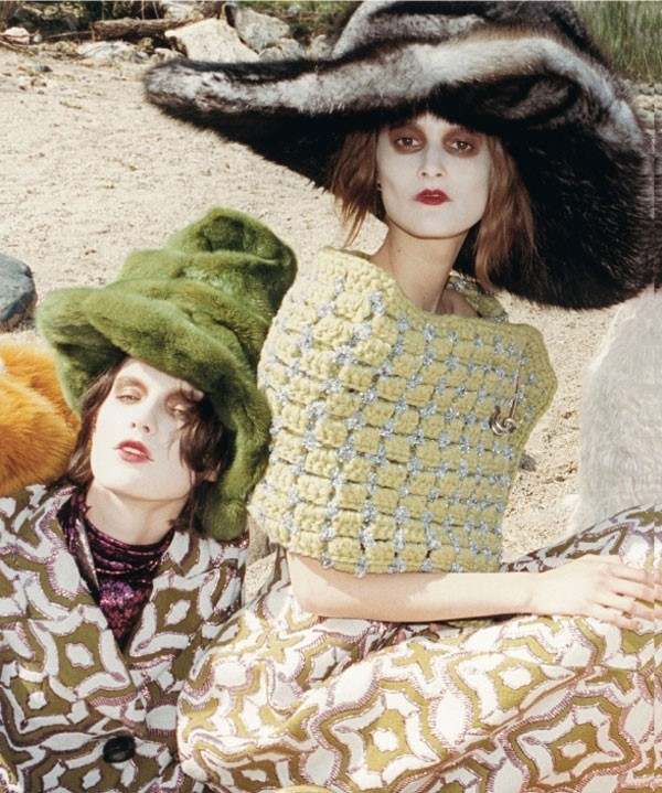 Marc Jacobs A/W12 featuring Marte Mei Van Haaster and Marie
