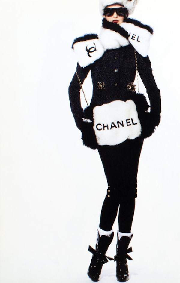 CHANEL A/W94 shot by Karl Lagerfled