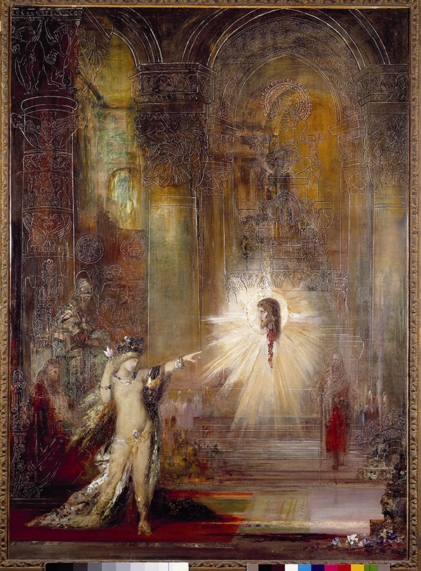 The Apparition, Gustave Moreau, 19th century, Musée Gustave
