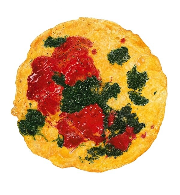 Three-Coloured Frittata