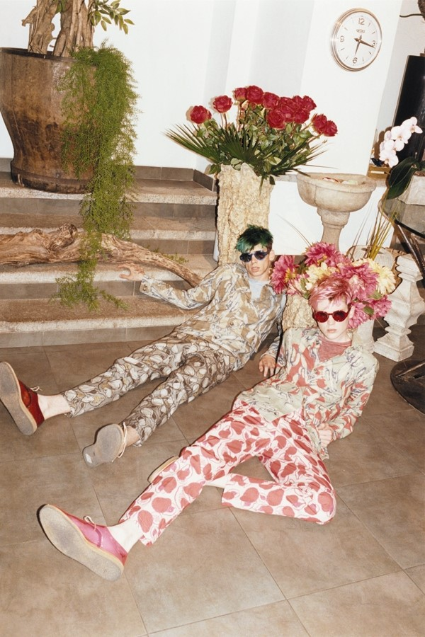 Cole Mohr and Shame Gambill in Marc Jacobs S/S13