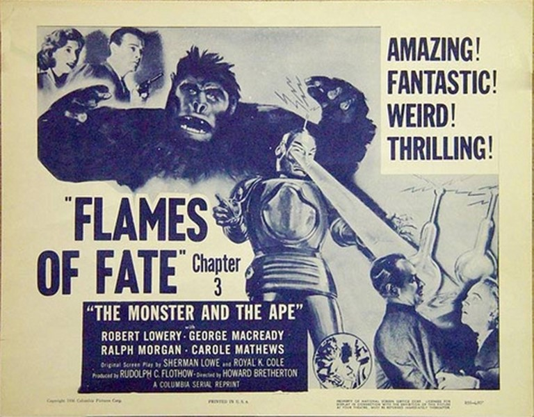The Monster and the Ape, 1945