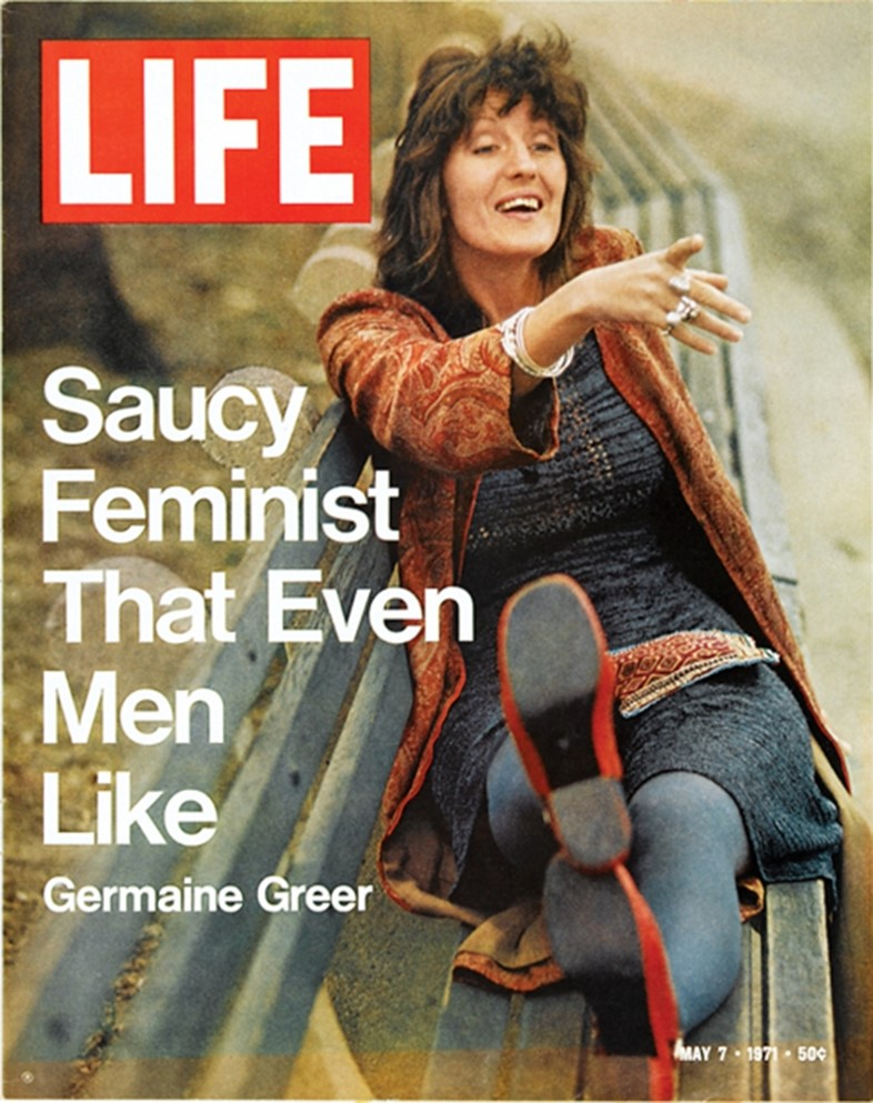 """Saucy Feminist That Even Men Like"" — May 7, 1971 issue of L"