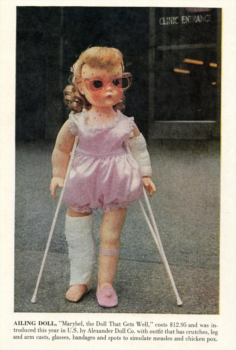 Marybel, the Doll That Gets Well, from LIFE Magazine, 1959