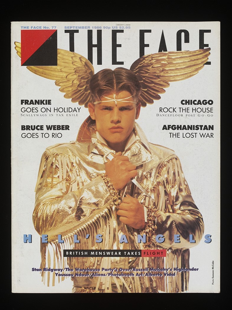 Front cover from The Face (Hell's Angels Cover), September 1