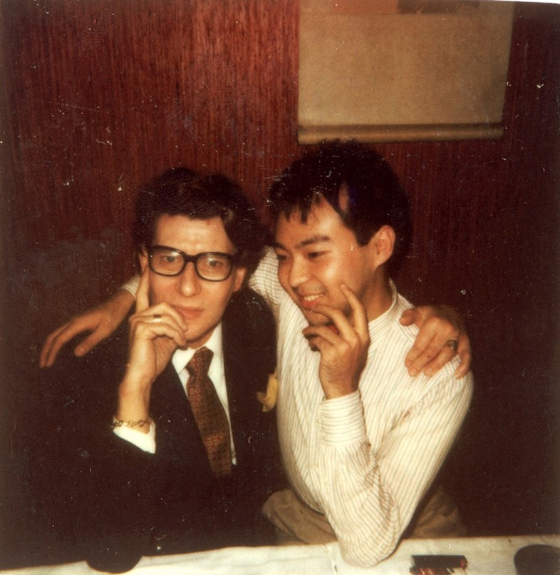 Yves Saint Laurent and Dave