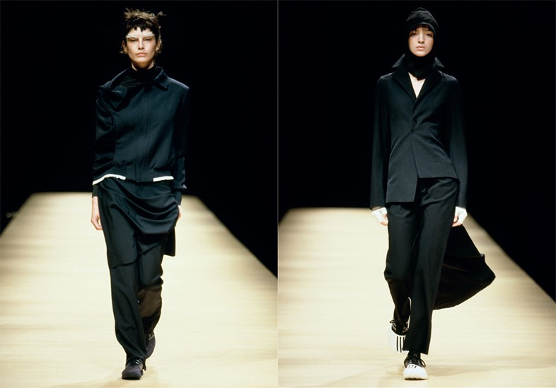 Adidas for Yohji Yamamoto Y 3 Spring 2013 Celebrating 10 Years Led By Yohji Himself