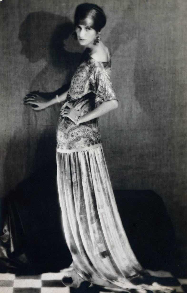 Peggy Guggenheim by Man Ray