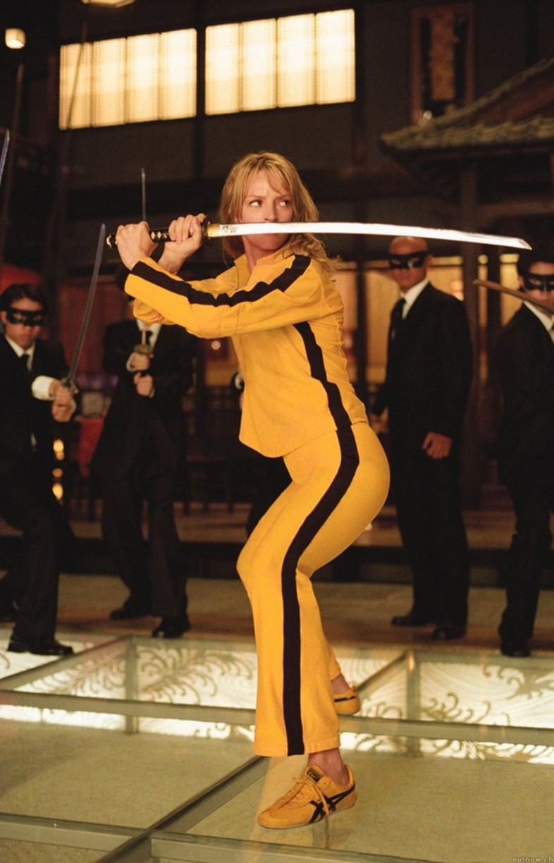 Uma Thurman as Beatrix Kiddo in Kill Bill, 2003