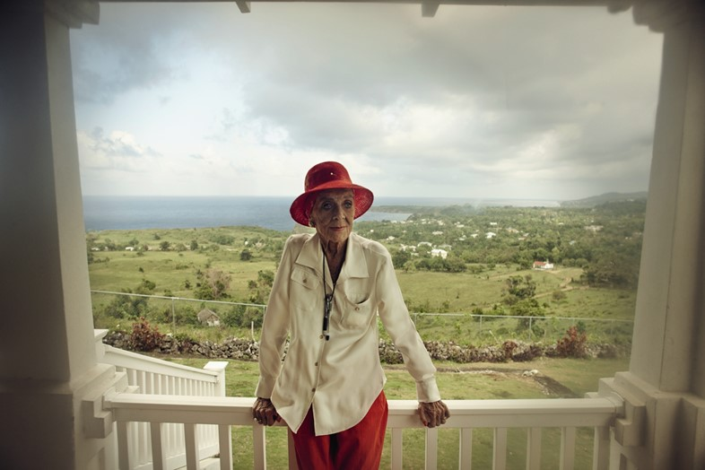 Patrice Wymore at her Jamaican ranch in May 2013