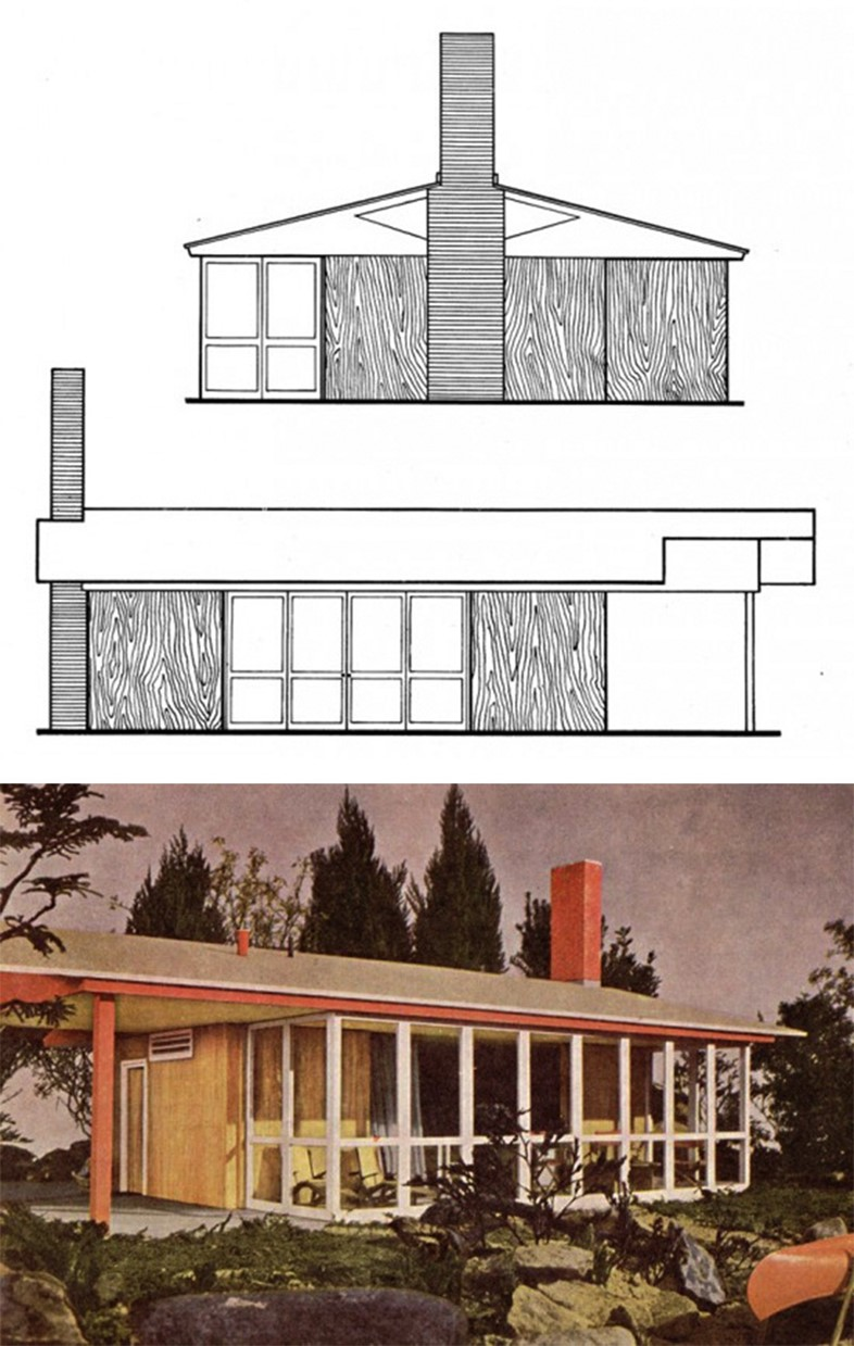 Cabin design from McCall's Book of Modern Houses