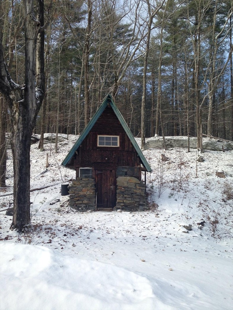 Tiny cabin in Woodstock, New York, contributed by Sarah Bisc