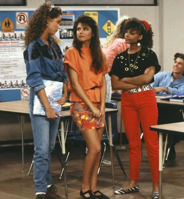 Lisa, Jessie and Kelly in Saved by the Bell