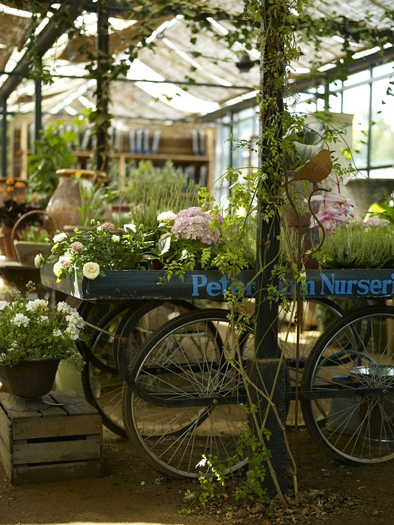 Petersham Nurseries Shop Trolley