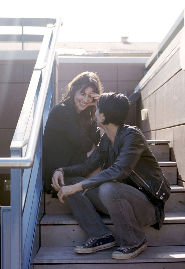 Charlotte Gainsbourg & Asia Argento