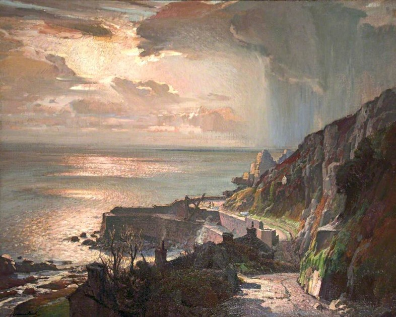 "Samuel John ""Lamorna"" Birch, Morning at Lamorna Cove"