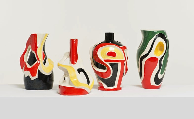 Roland Brice and Fernand Léger ceramics from Raf Simons' col