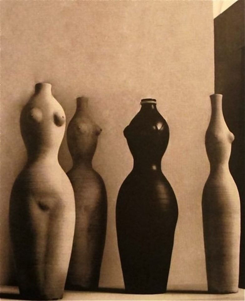 Vases (incredible forms) by Georges Jouve