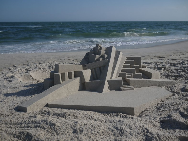 Sandcastle by Calvin Seibert