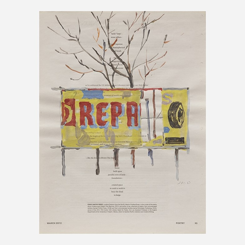 Jean-Philippe Delhomme, Untitled (from The Brooklyn Rail Pai