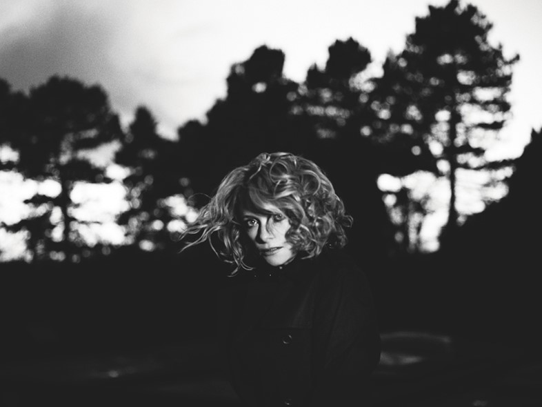 Alison Goldfrapp in the Nottinghamshire countryside