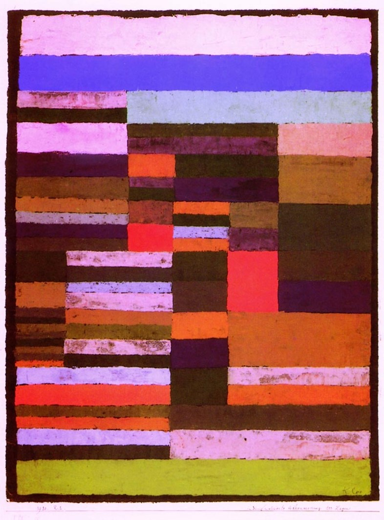 Paul Klee, Individualised Alimtery of Stripes, 1930