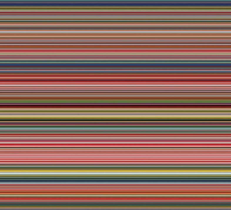 Richter's stripes