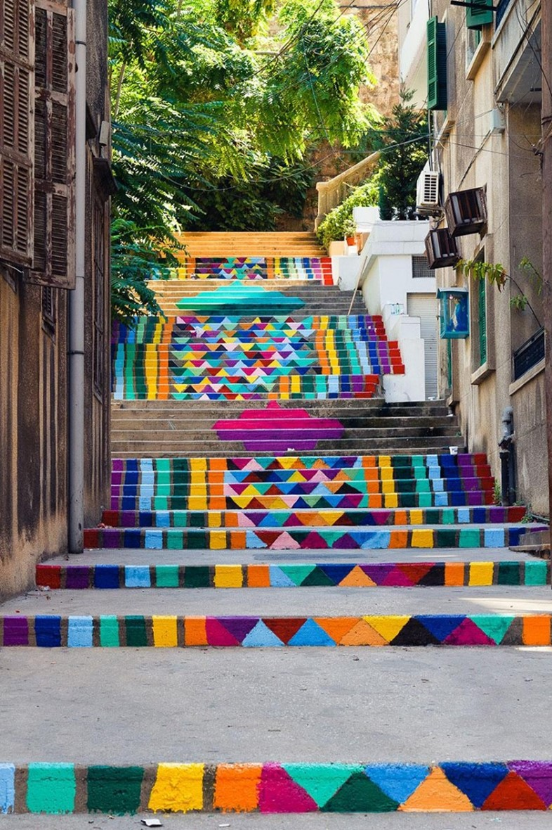 Steps in Beirut, Lebanon