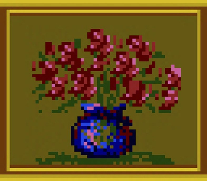 Bowl of Flowers from Sonic Blast Man II