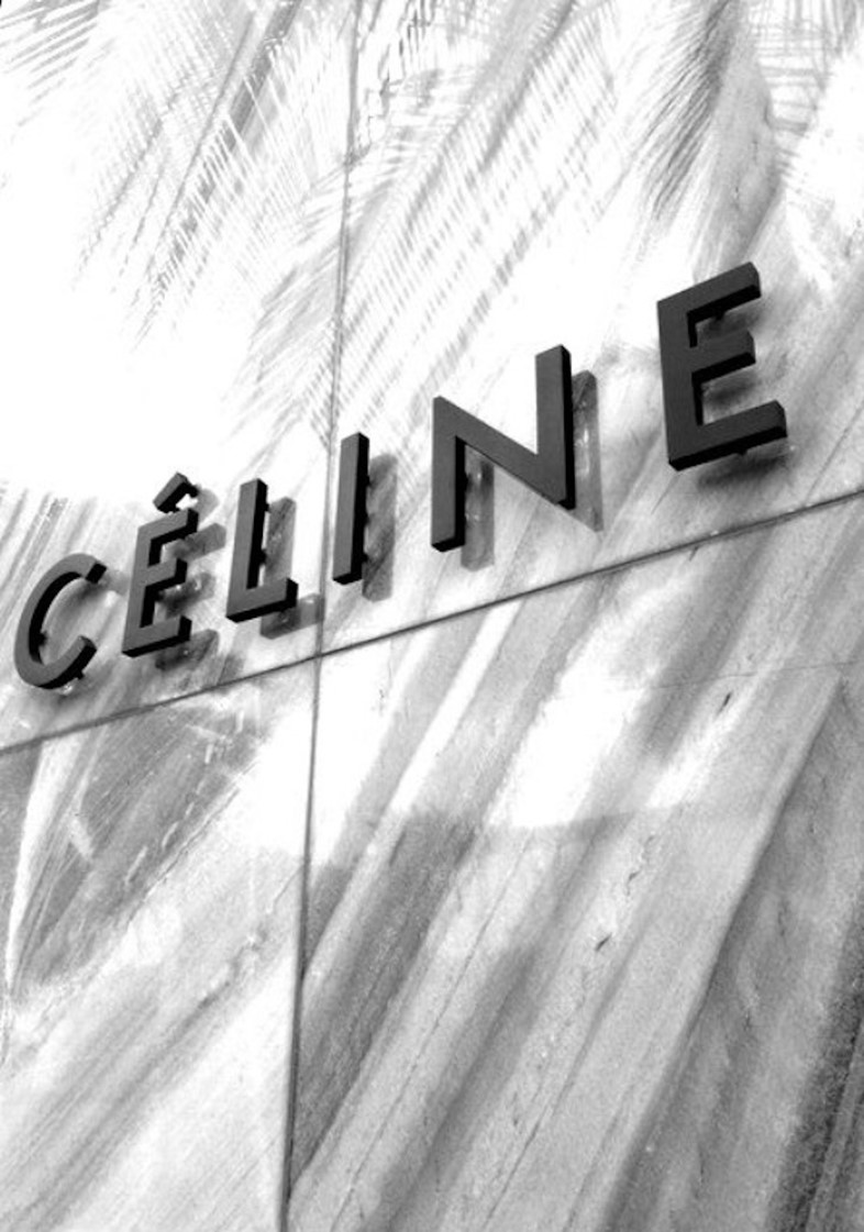 Céline shop front designed by Peter Miles