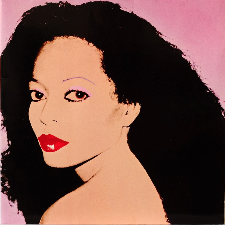 Diana Ross, Silk Electric, c. 1982 by Andy Warhol