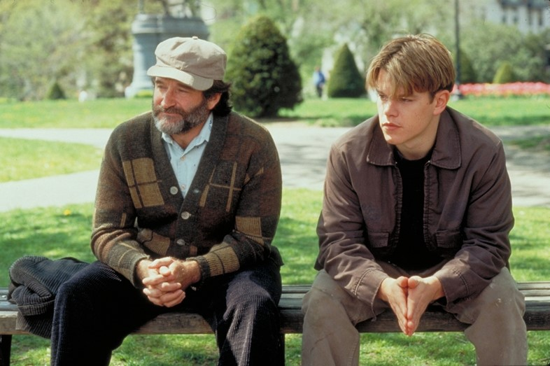 Robin Williams in Good Will Hunting, 1997