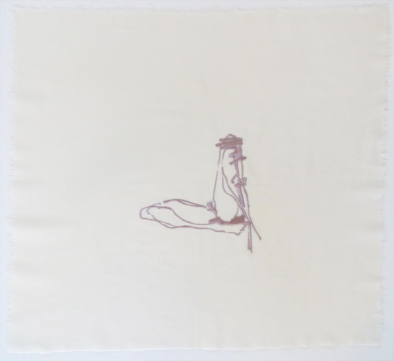 Lilac Legs by Tracey Emin