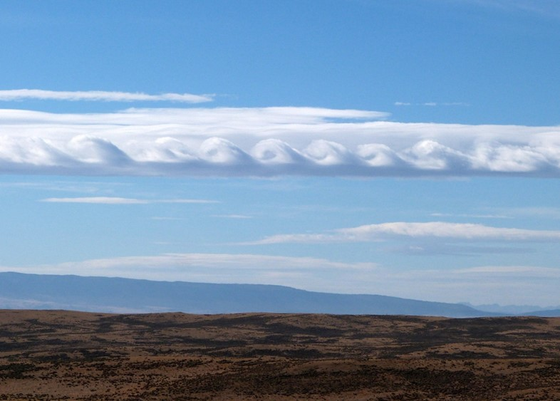 A Kelvin-Helmholtz formation over Casper, US