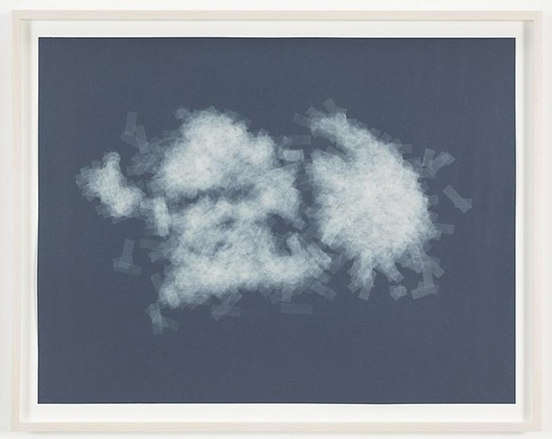 Spencer Finch, Cloud (cumulus fractus, Brooklyn), 2014
