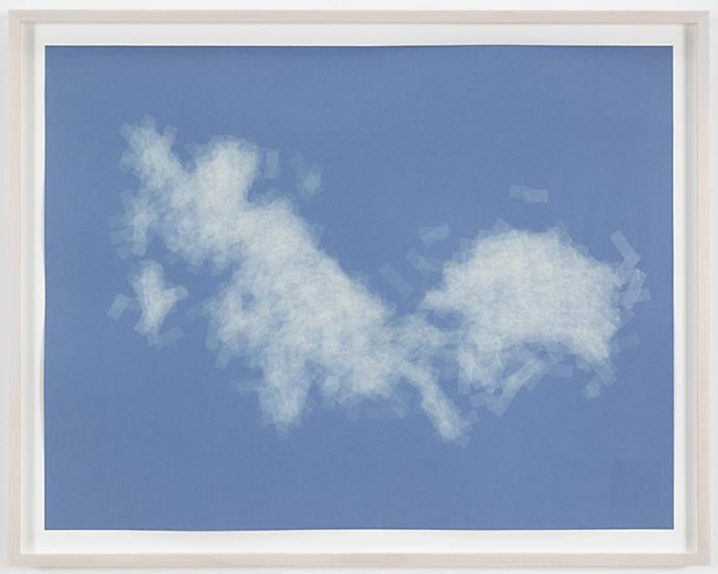 Spencer Finch, Cloud (cumulus fractus, Massachusetts, E.D.),