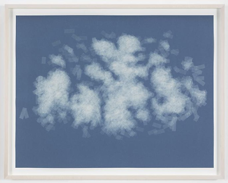 Spencer Finch, Cloud (cumulus congestus, Spain), 2014