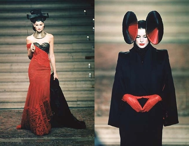"Givenchy Haute Couture A/W97, ""Eclect Dissect"""
