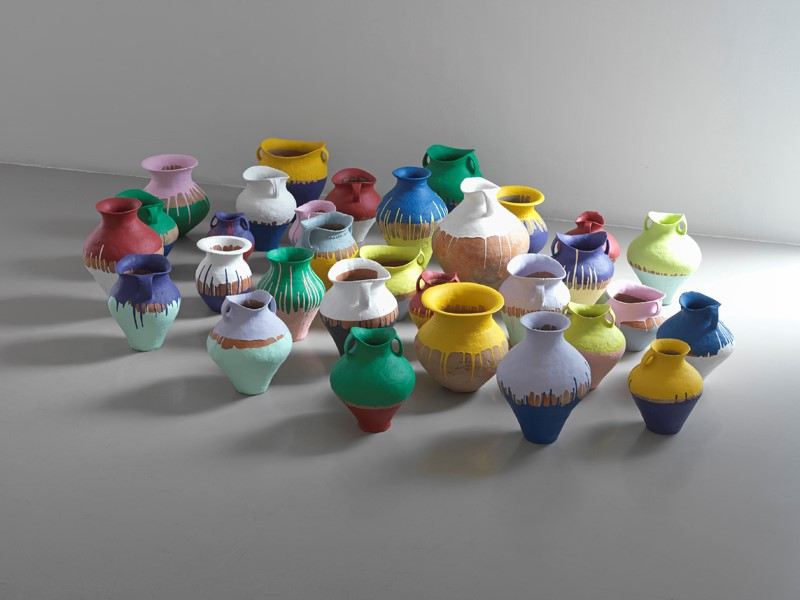 Coloured Vases, 2010, Ai Weiwei
