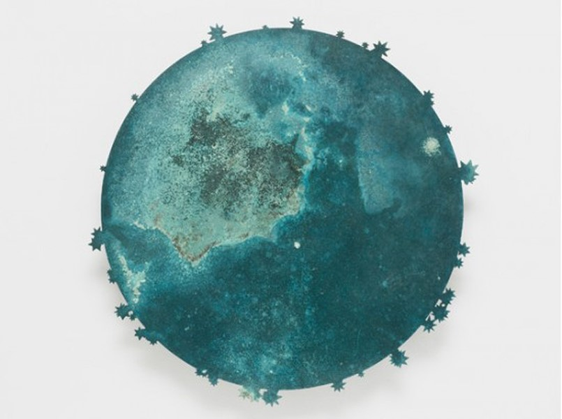Kiki Smith, Blue Moon I, 2011