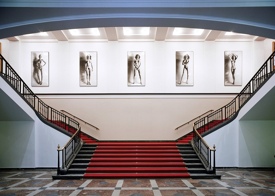 Helmut Newton Foundation foyer